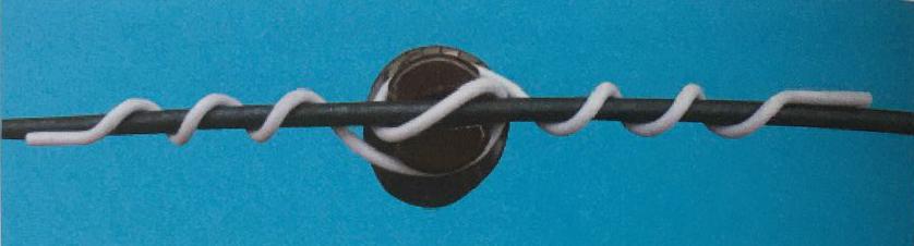 Plastic insulator tie,insulator tie,insulator tie wire, distribution tie, tie wire distribution
